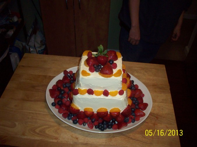 The finished piece (of cake)