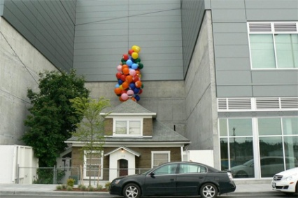 "House that looks like the one in ""Up"""