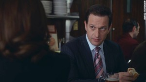 Josh Charles in the role of Will Gardner in The Good Wife